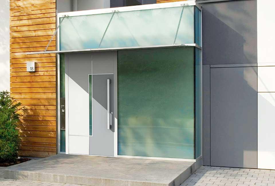 marx Holzhandel | Porte d'entrée Adoro 201 | à Neuried près d'Offenburg
