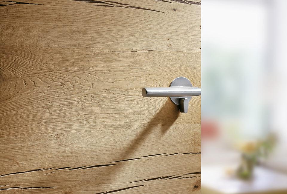 marx Holzhandel | porte à l'intérieur Dana Crackeiche | à Neuried près de Strasbourg