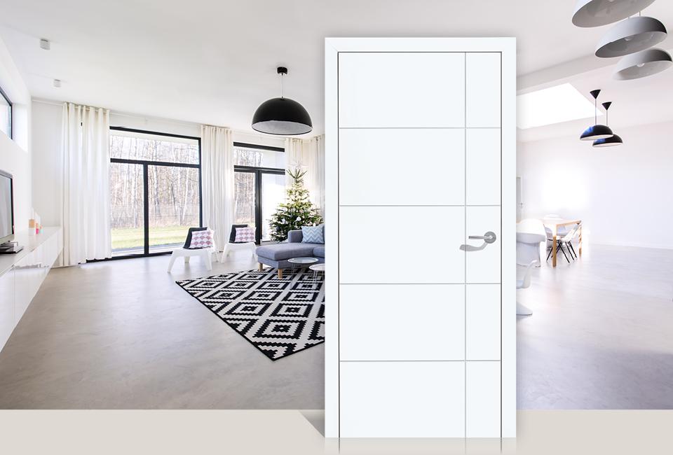 marx Holzhandel | Porte intérieure blanche | Neuried à Achern