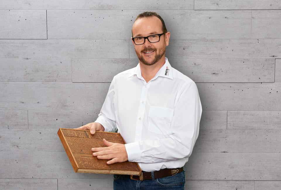 marx Holzhandel | Mitarbeiter Klemens Beck | Neuried bei Straßburg