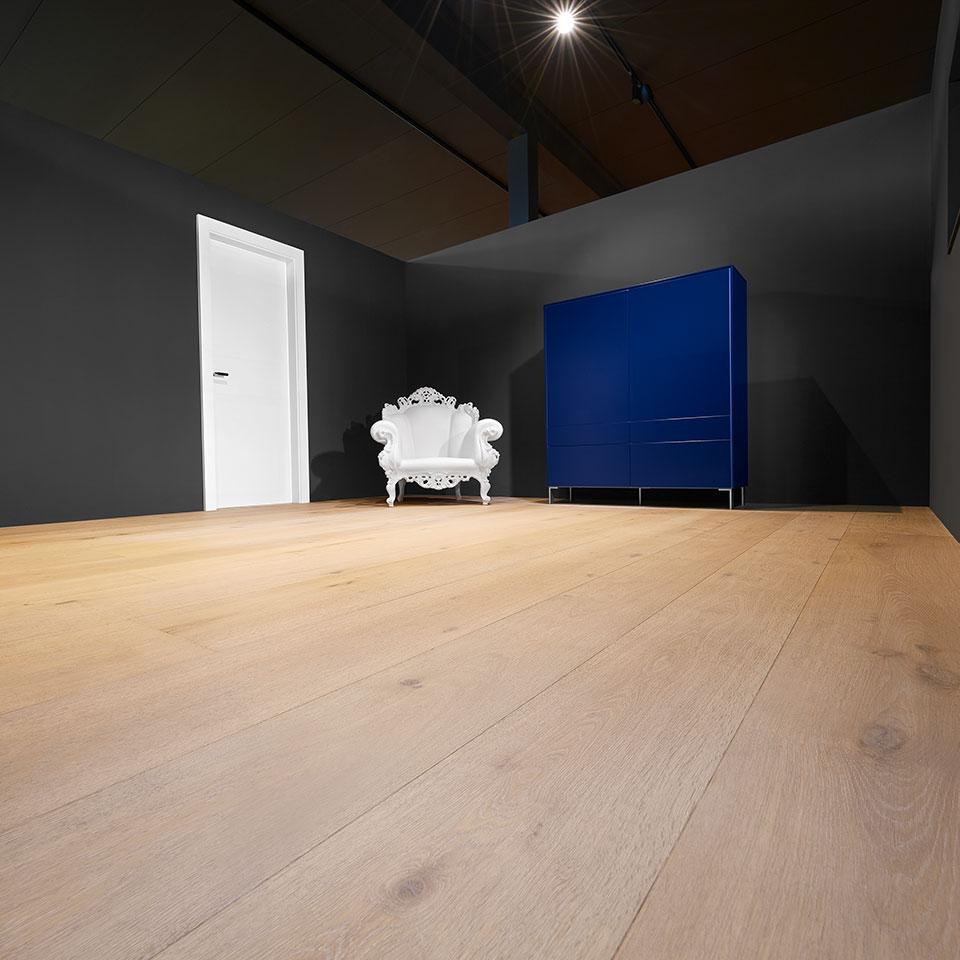 marx Holzhandel | Planches de château lumineux | | Plancher d'exposition en bois véritable | à Neuried près de Strasbourg