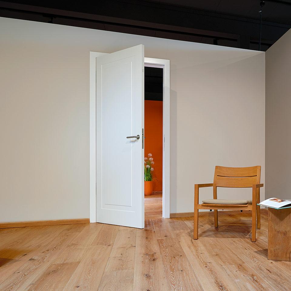 marx Holzhandel | Porte laquée blanche | porte blanche de haute qualité | à Neuried près de Fribourg