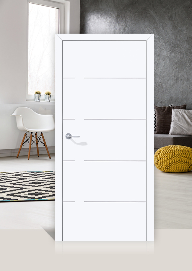 marx Holzhandel | Huga Motif 340 U | Porte intérieure blanche | Neuried à Achern