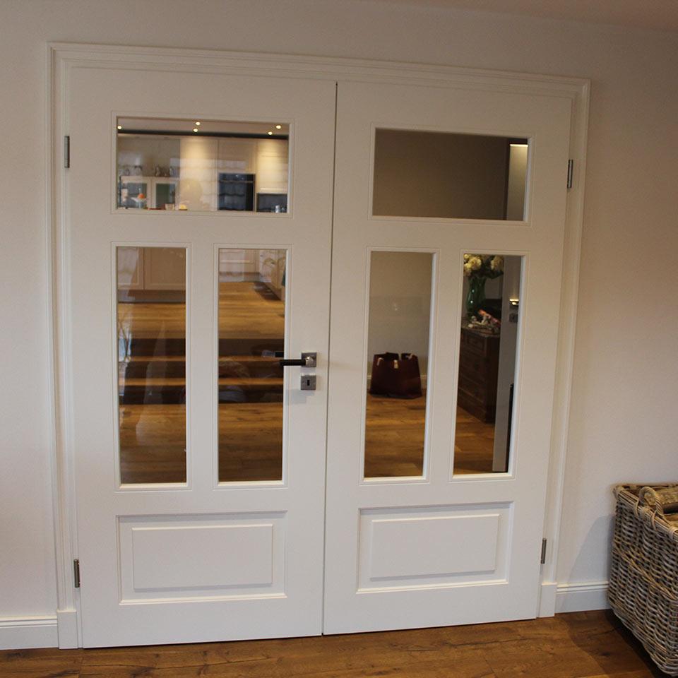 Designtüren als Flügeltüren geschlossen | marx Holzhandel | Neuried bei Straßburg