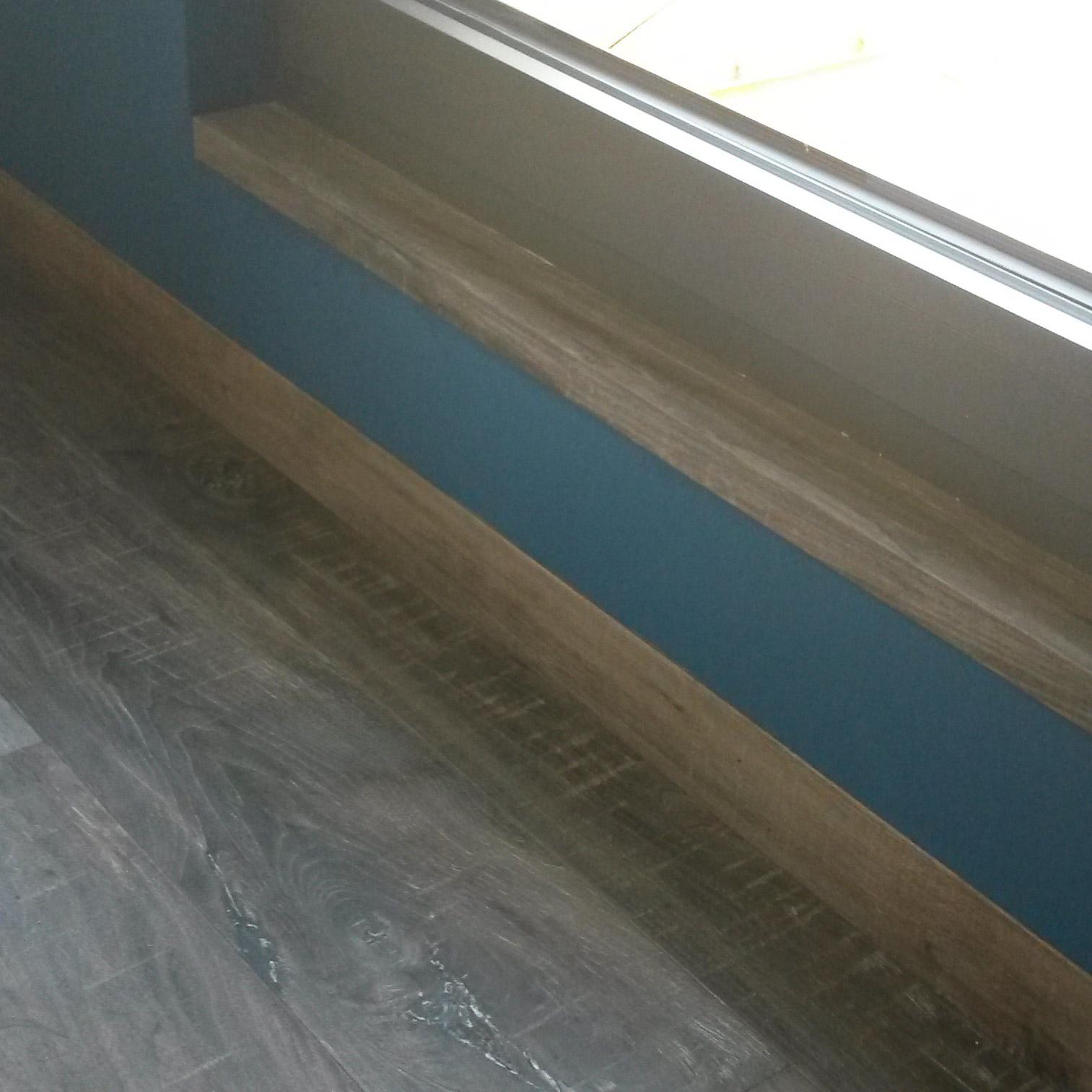 Ahorn Parkett Übergang Fenster | Referenzen | marx Holzhandel bei Offenburg