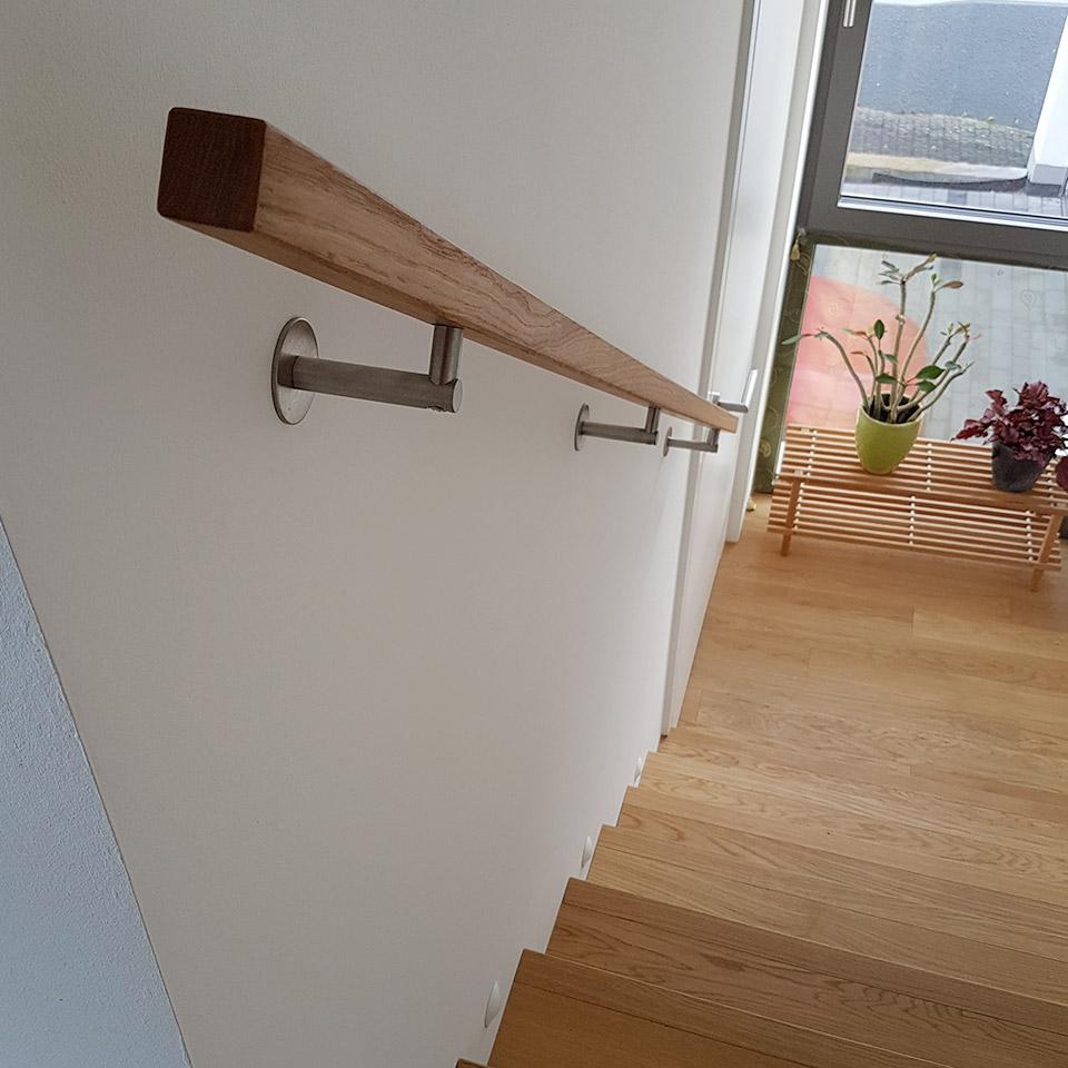 Escalier avec main courante assortie | Références | marx commerce du bois à Offenburg