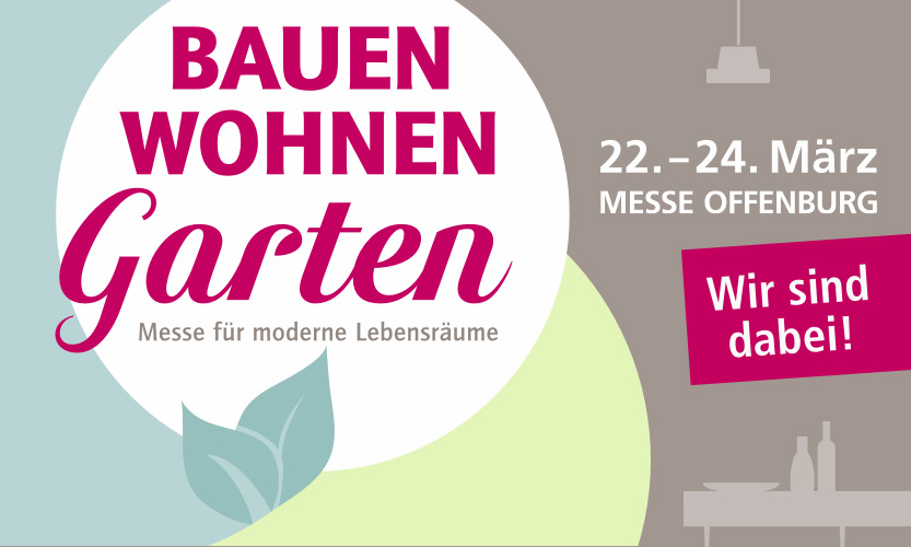 BAUEN WOHNEN Garten Messe 2019 | Artikelbild | marx Holzhandel