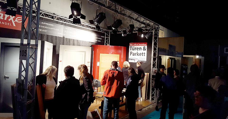 Nachbericht zur WOHNEN BAUEN Garten Messe 2019 | marx Holzhandel in Neuried