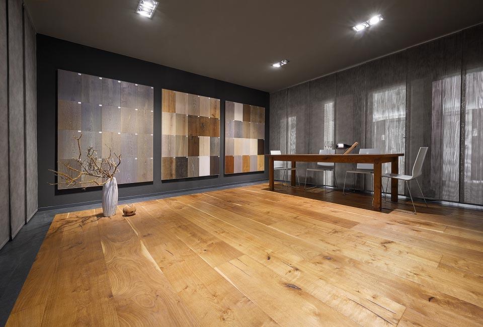 marx Holzhandel | Parkett Siena Ausstellung | in Neuried bei Straßburg
