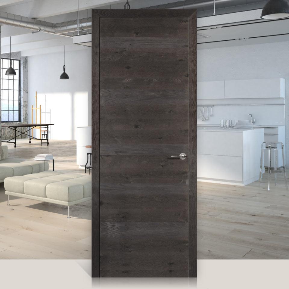 Dana Struktura chêne noueux argenté | Vivre avec le bois | Portes intérieures | marx Le bois. Le design.
