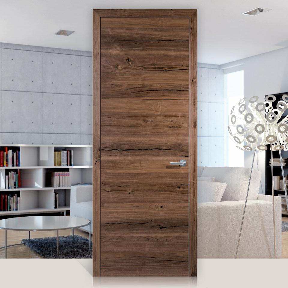 Dana Struktura Cracknut black | Vivre avec le bois | Portes intérieures | marx Le bois. Le design.