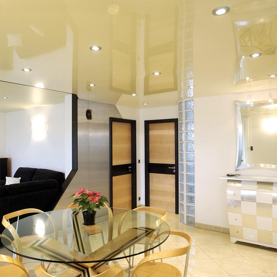 Exzento Hotel Foyer Creme Spanndecke | marx Holzhandel bei Appenweier