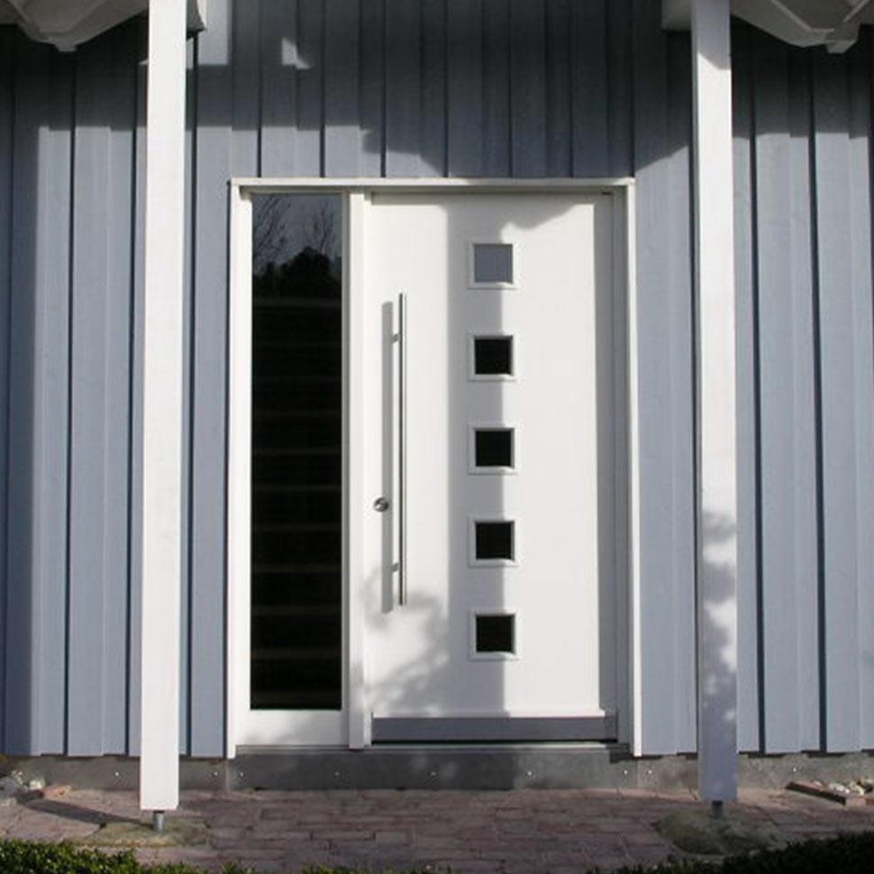 Die Haustüren von Kowa in weiss | marx Holzhandel in Appenweier