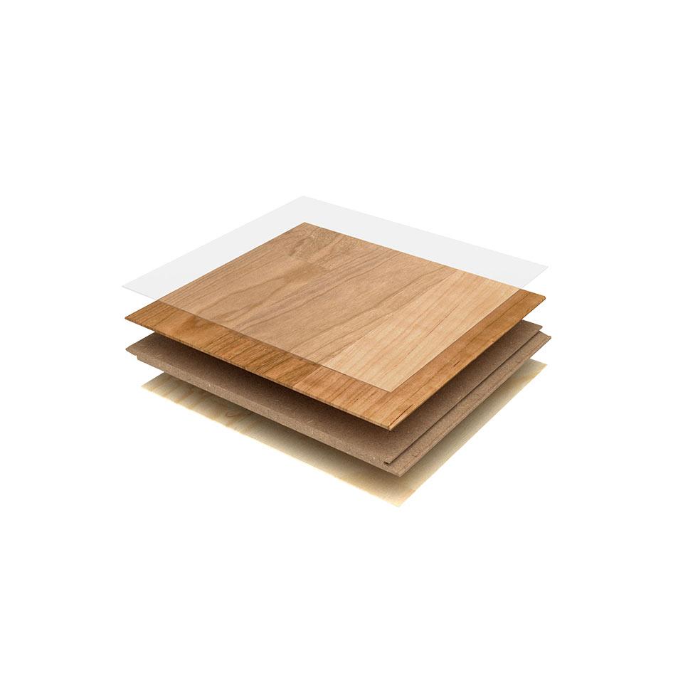 Schichtaufbau von Laminat | marx Holzhandel in Neuried bei Lahr und Kehl