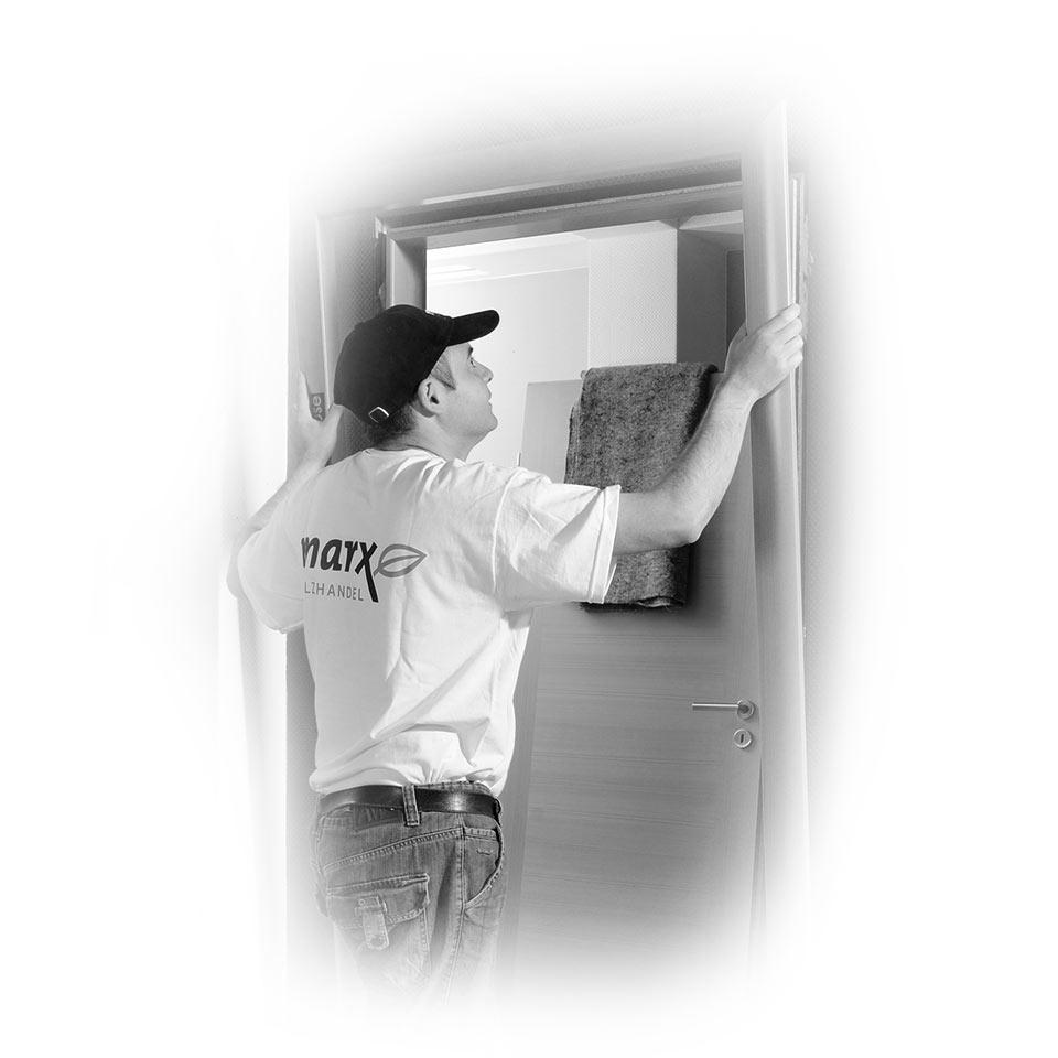 Service des portes intérieures chez marx Holzhandel à Appenweier