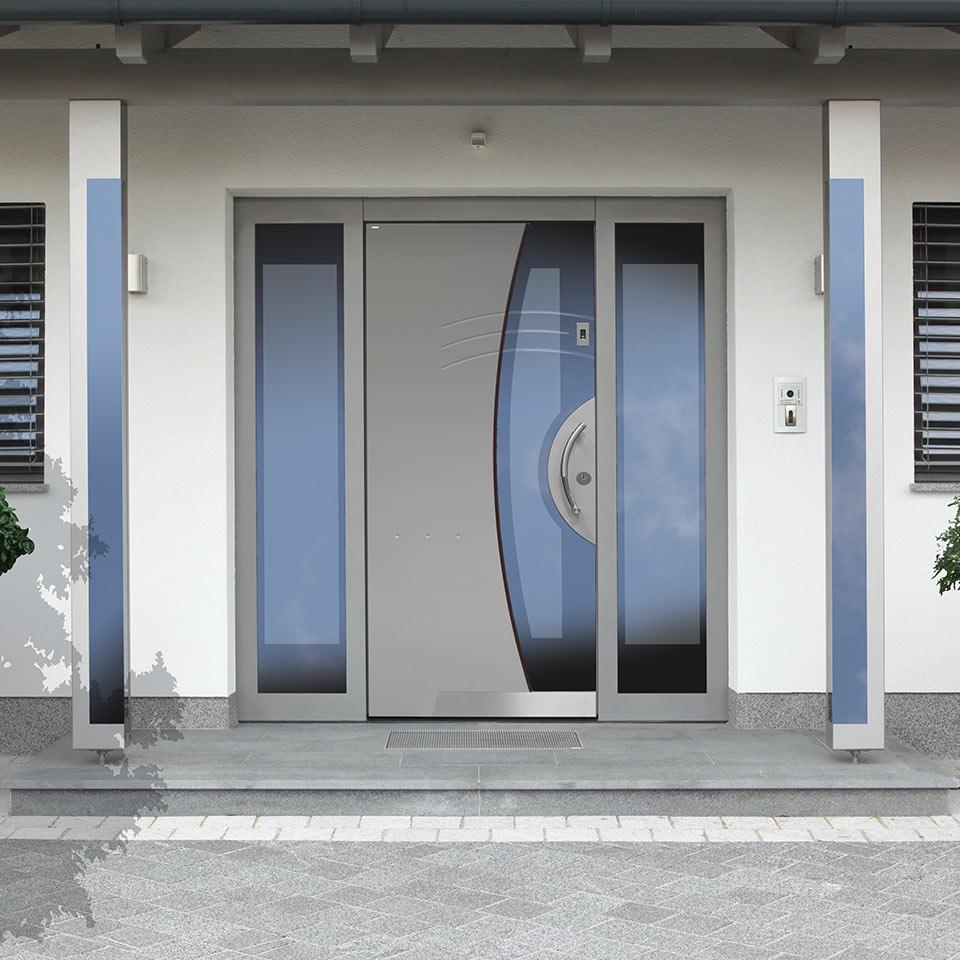 Sichere Haustüren bei marx Holzhandel bei Appenweier