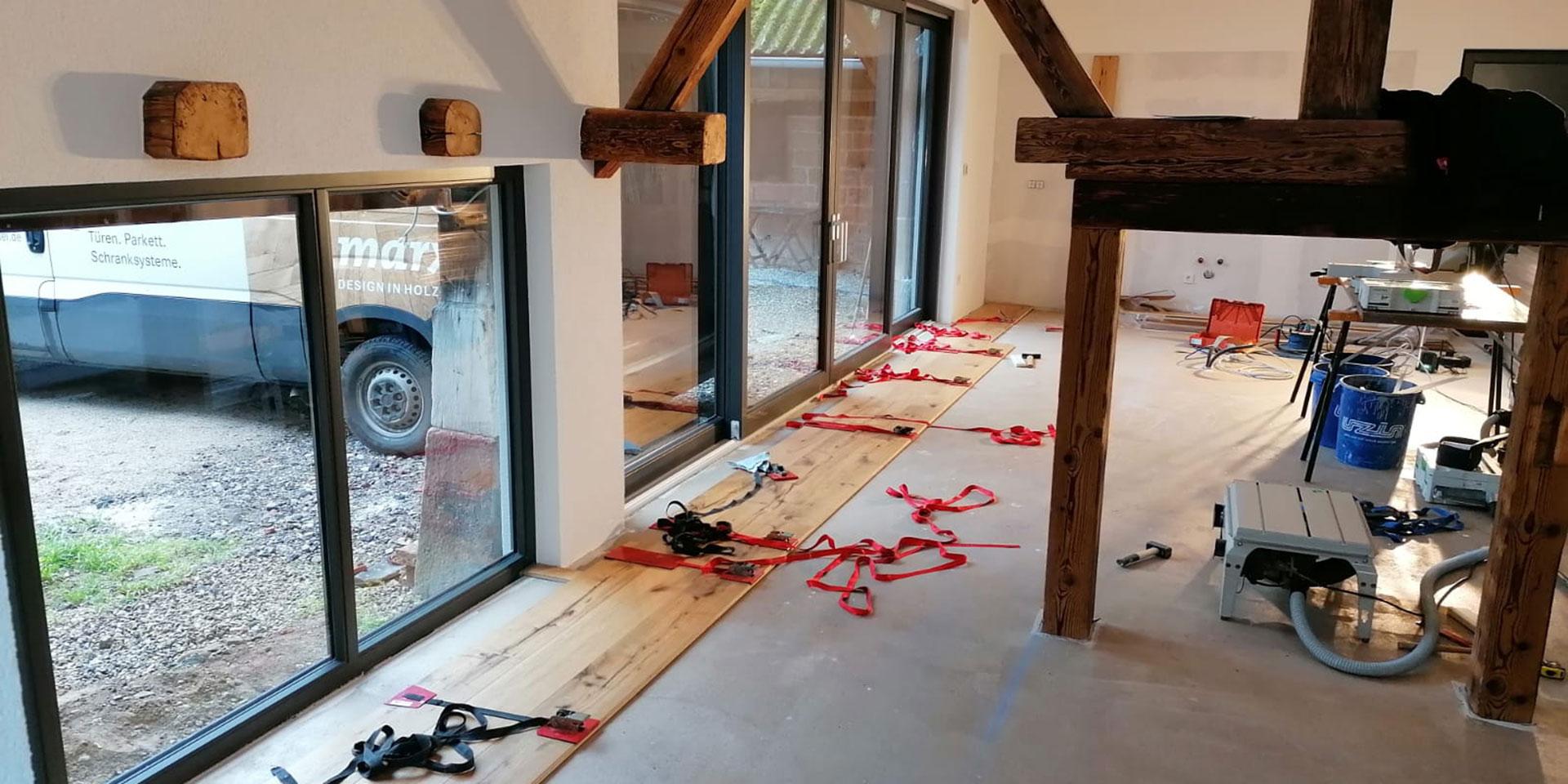Vor der Altbausanierung | marx Holzhandel in Neuried