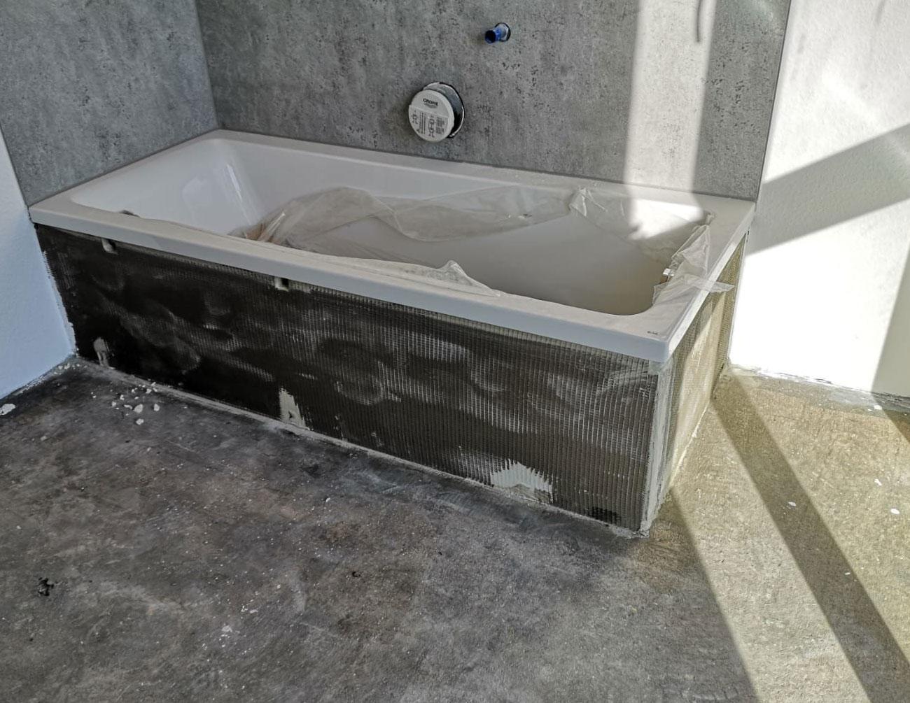 Habillage de baignoire en vinyle, avant | Références | marx Holzhandel, Neuried