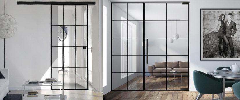 Deux loft doors linesPlus pour votre style de vie individuel. marx Holzhandel