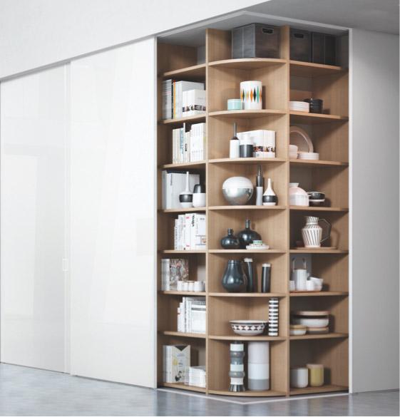 Weißer Holz-Echschrank | Schranksysteme | marx Design in Holz