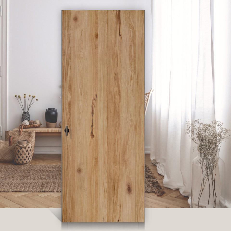 Porte intérieure en bois rustik oak marx holzhandel