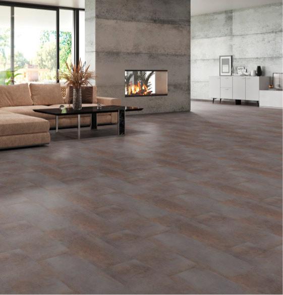 Designböden in Metalloptik | Boden | marx Design in Holz