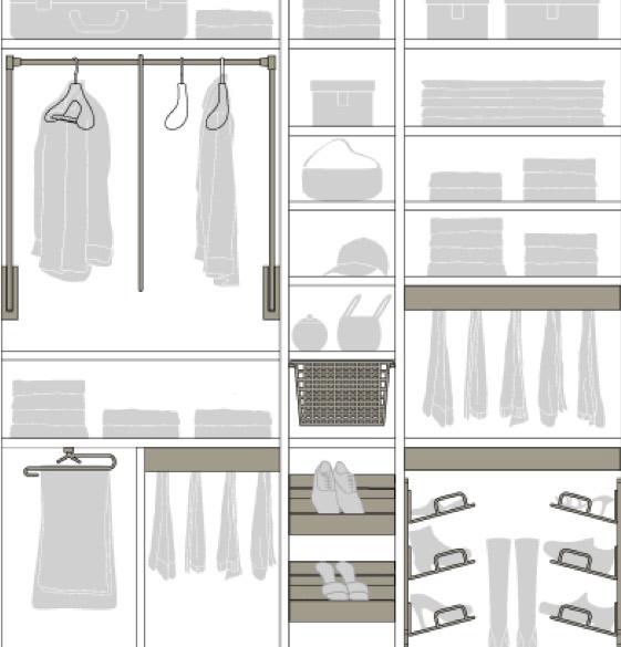 Individuelle Innenausstattung für Schränke | marx Design in Holz