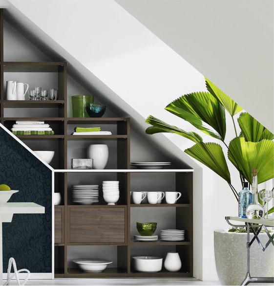 Schränke mit purer Gestaltungsvielfalt: Dachschrägenschrank | marx Design in Holz