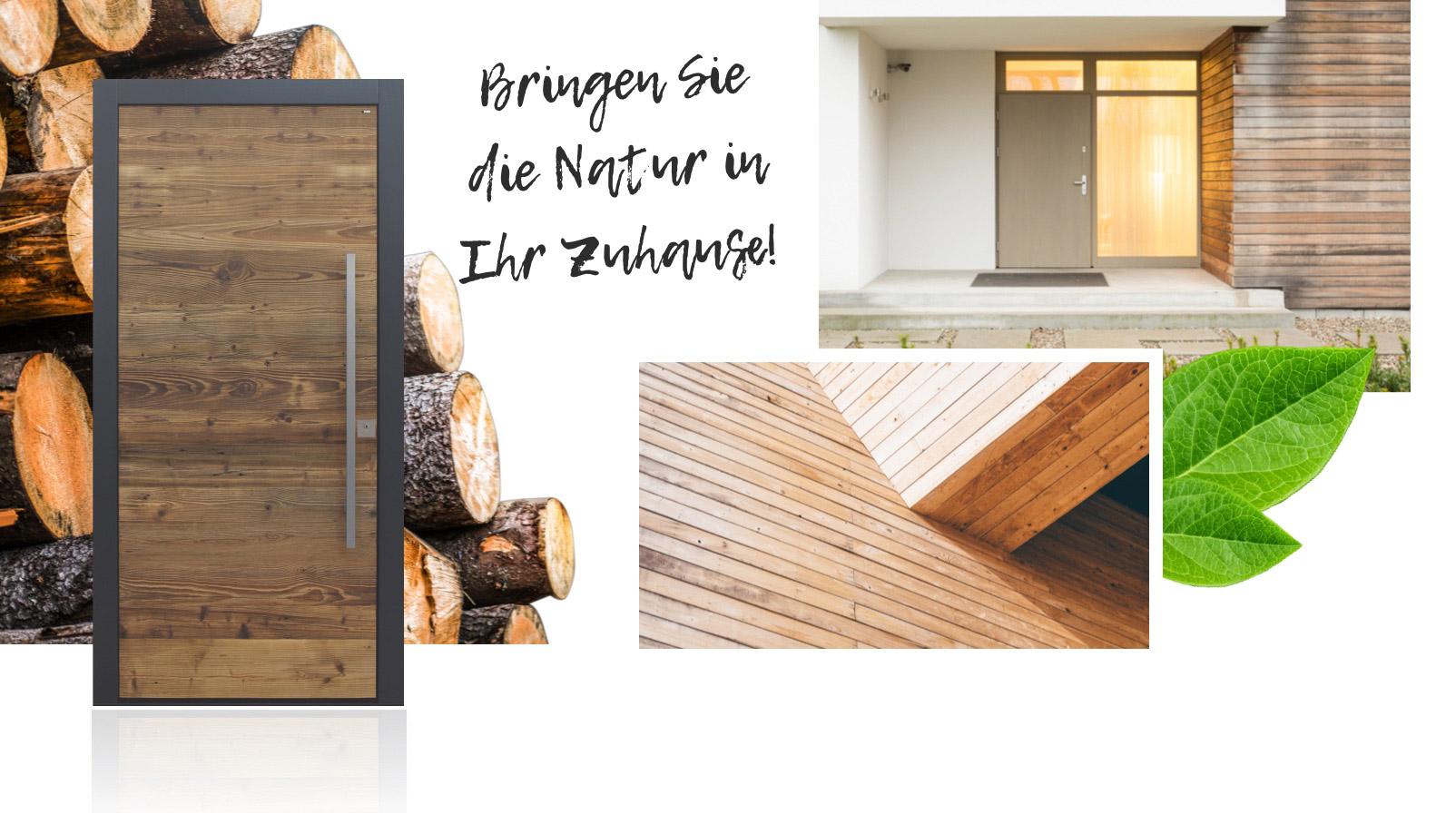 Haustüren: Natur in Ihrem Zuhause | marx Design in Holz