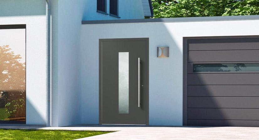 Haustüren: elegant, minimalistisch, stilvoll   marx Design in Holz