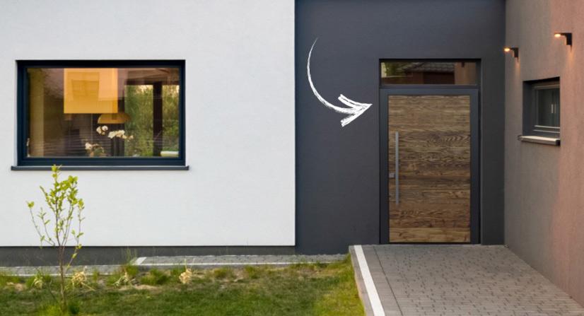 Changer sa porte d'entrée – à quel moment et pour quelles raisons ?