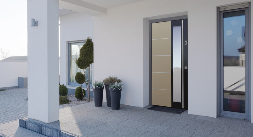 Haustüren: Modern, trendig, technisch | marx Design in Holz