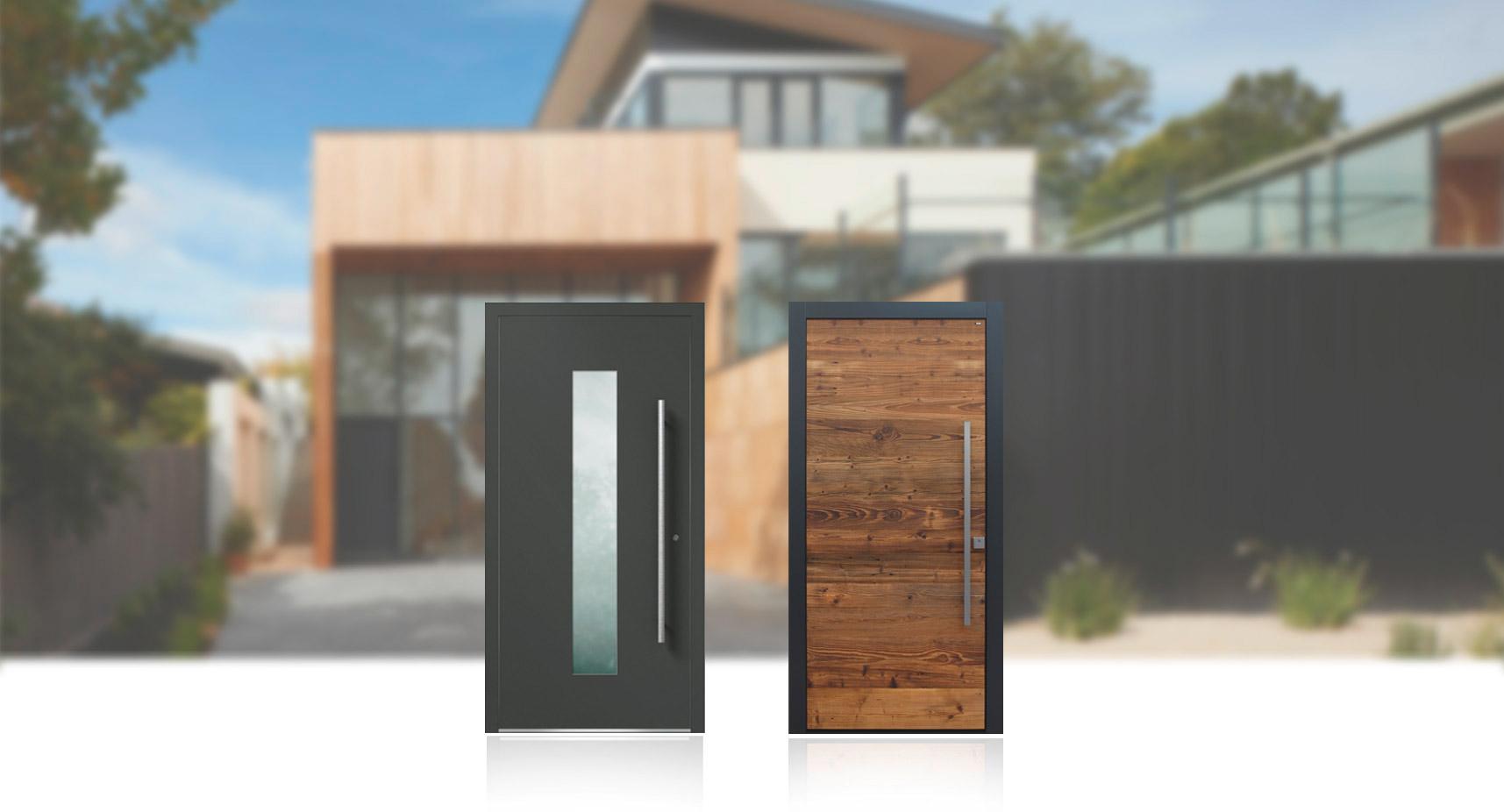 Haustüren passend zu Ihrem Wohnstil | marx Design in Holz